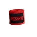 Bandaż bokserski Dragon czerwony 3 m