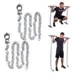 Łańcuchy treningowe na gryf 2x10 kg inSPORTline Chainbos