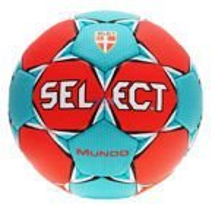 Piłka ręczna Select Mundo czerwona