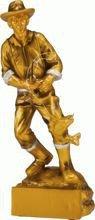 Statuetka ( figurka ) odlewana Wędkarstwo RF7001