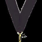 Wstążka do medali 11mm czarna