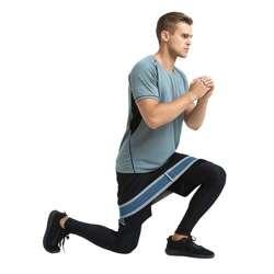 Opaska wzmacniająca do ćwiczeń fitness ekspander inSPORTline Lopr 76 cm