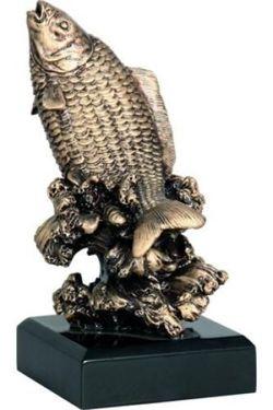 Statuetka ( figurka ) odlewana Wędkarstwo RFST2028